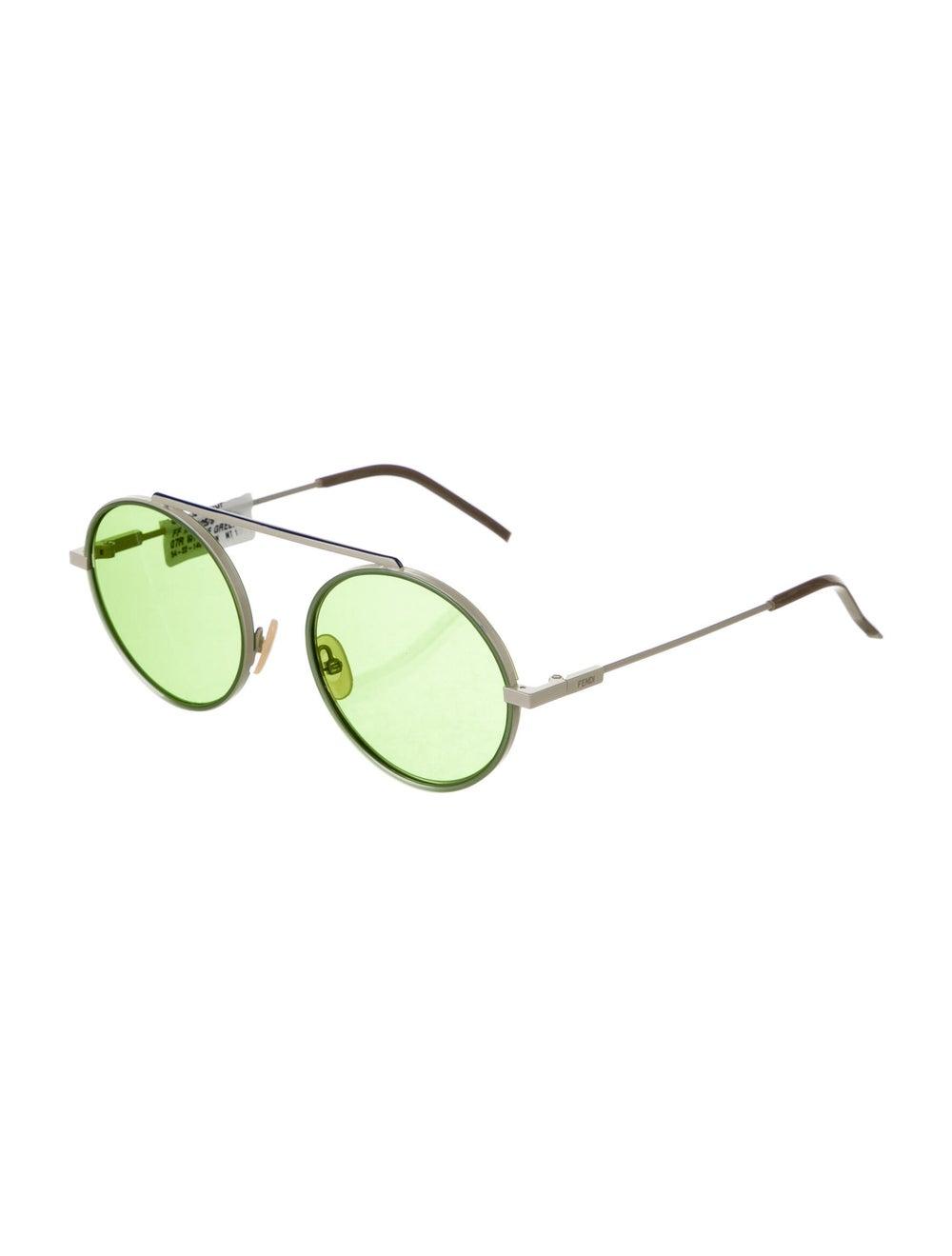 Fendi Round Tinted Sunglasses - image 2