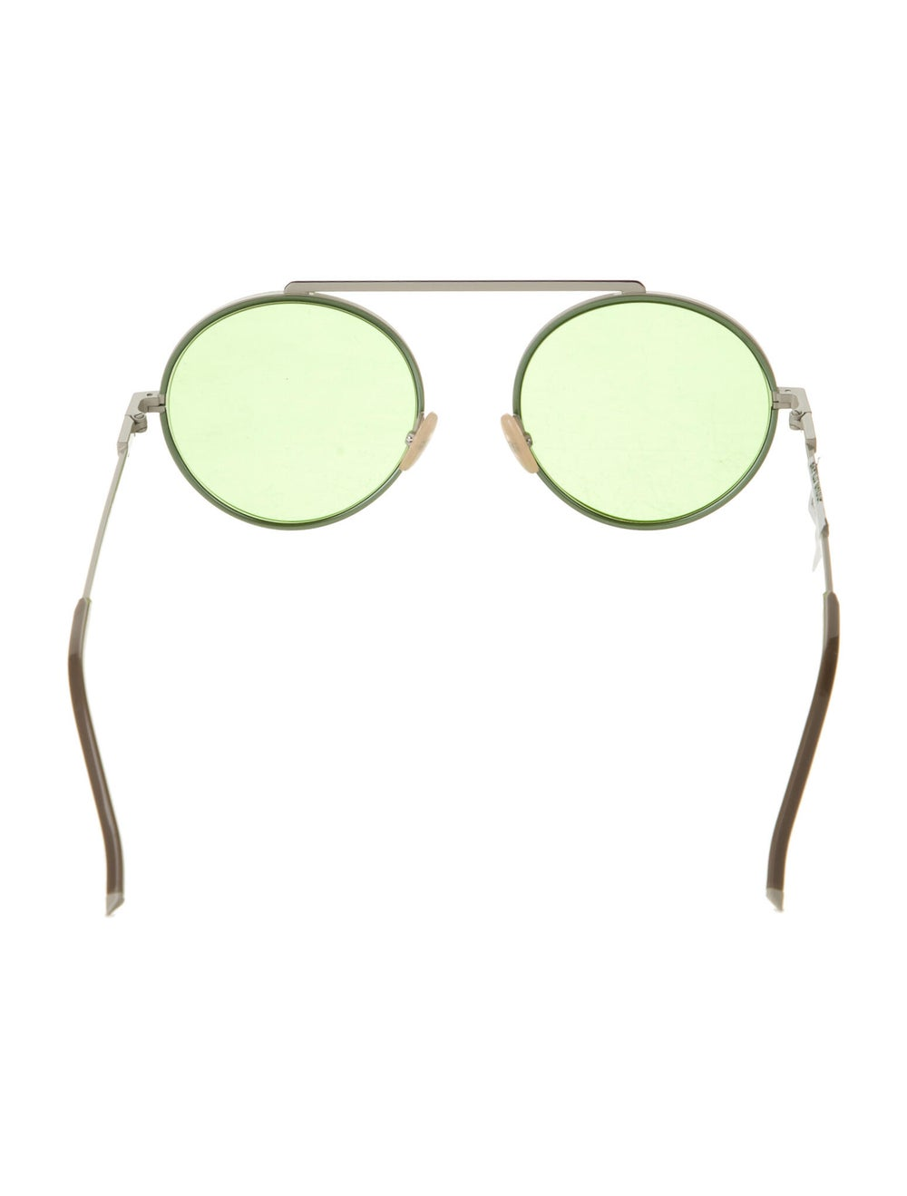 Fendi Round Tinted Sunglasses - image 3