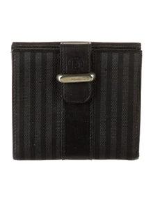 Fendi Vintage Compact Compact Wallet