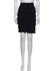 Fendi Ruffle Embellishment Knee-Length Skirt