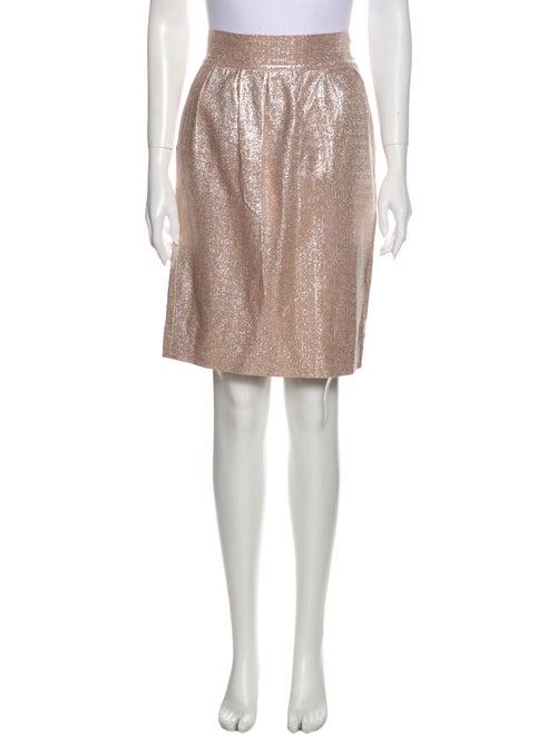 Fendi Knee-Length Skirt Metallic