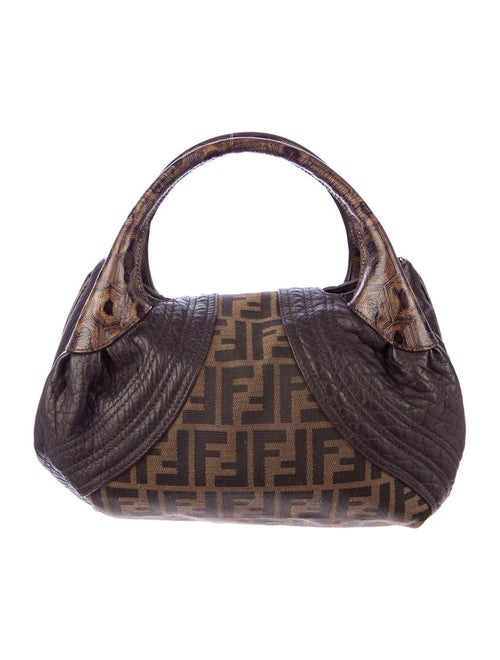 Fendi Zucca Mini Spy Bag - Handbags - FEN24064  9cde03b55c54d