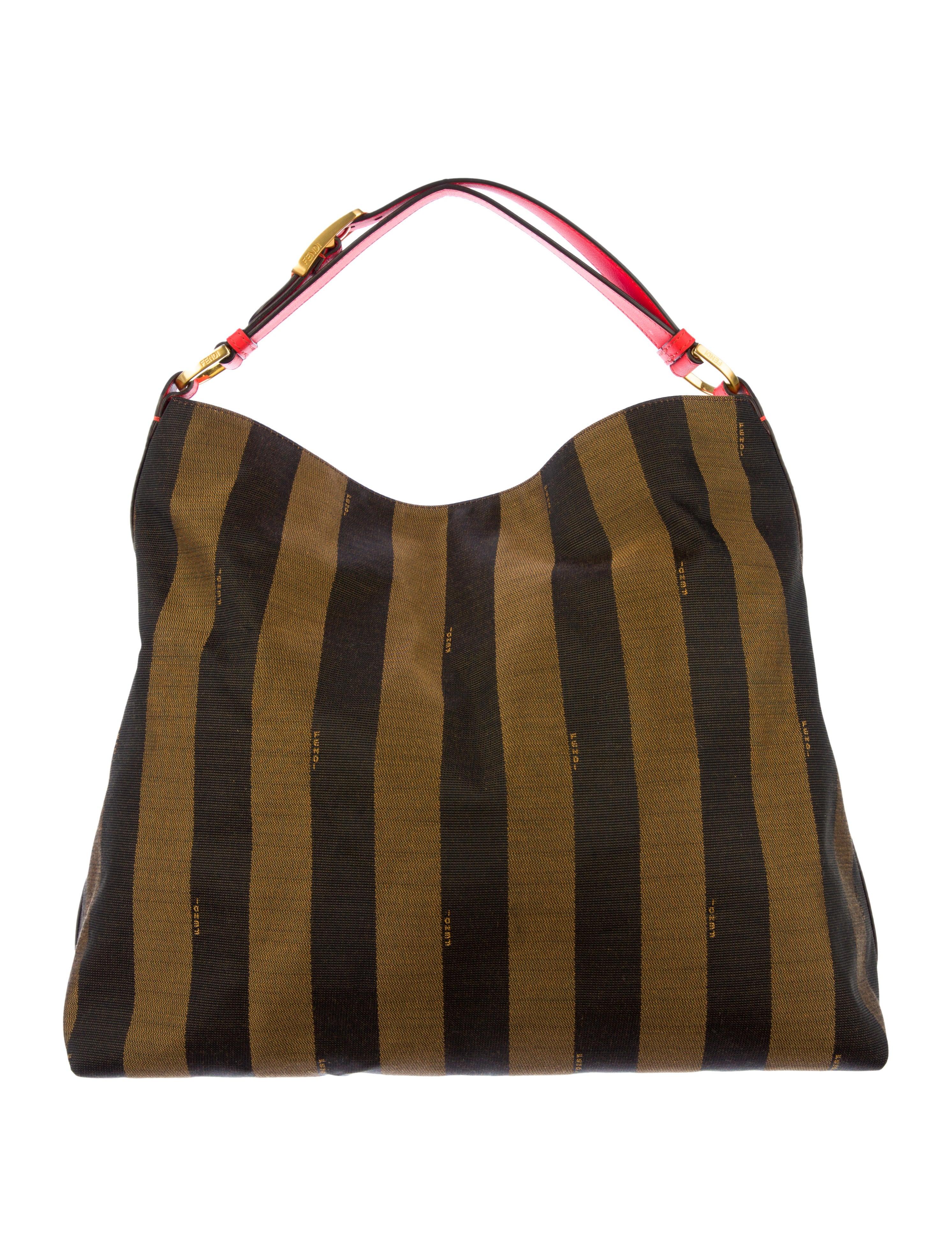 a8218179a5d Fendi Pequin Borsa Hobo - Handbags - FEN25771   The RealReal