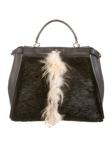 Fur Peekaboo Bag
