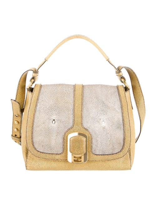 9d67c0ab3534 Fendi Stingray Anna Satchel - Handbags - FEN27647