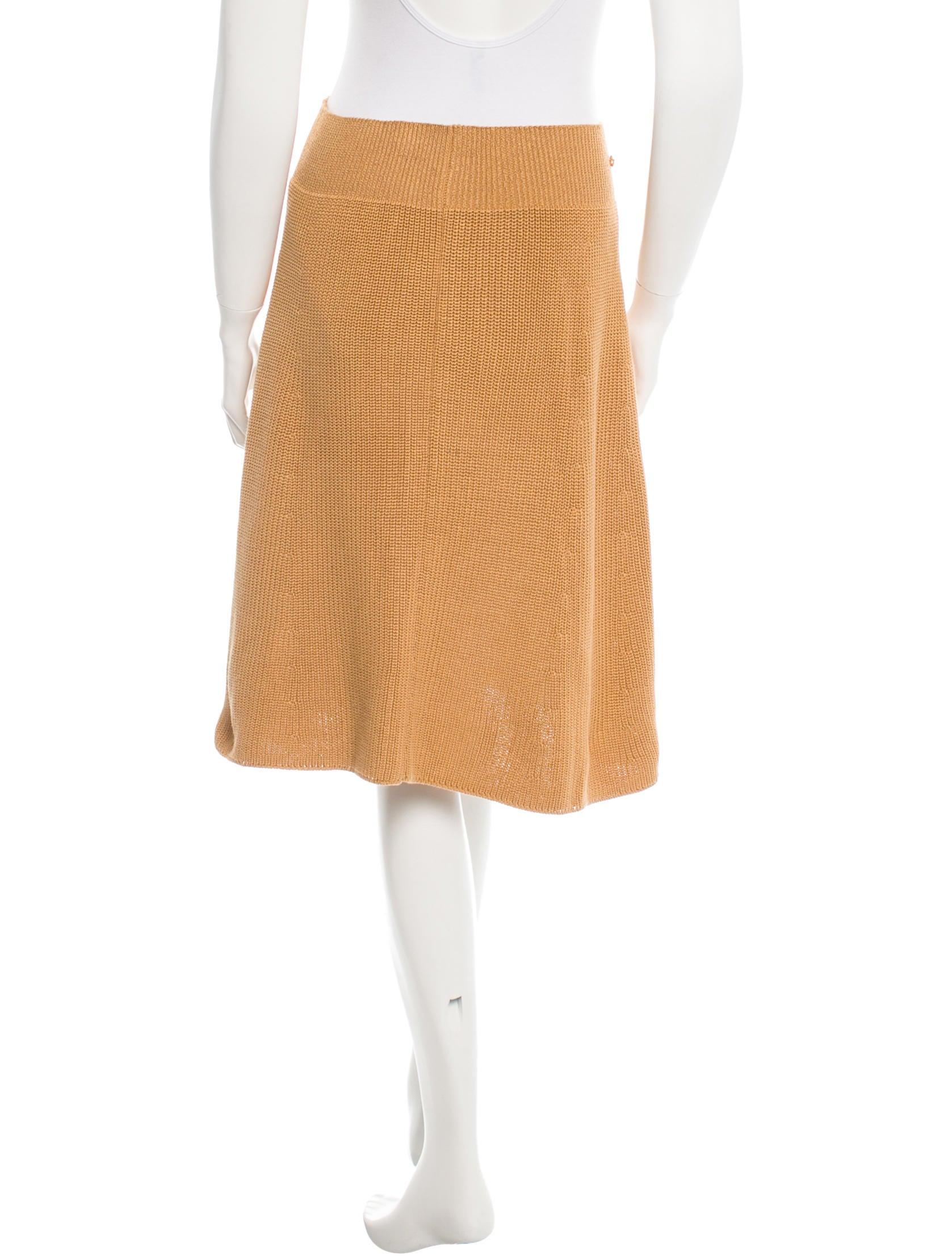 Knit A Line Skirt 106
