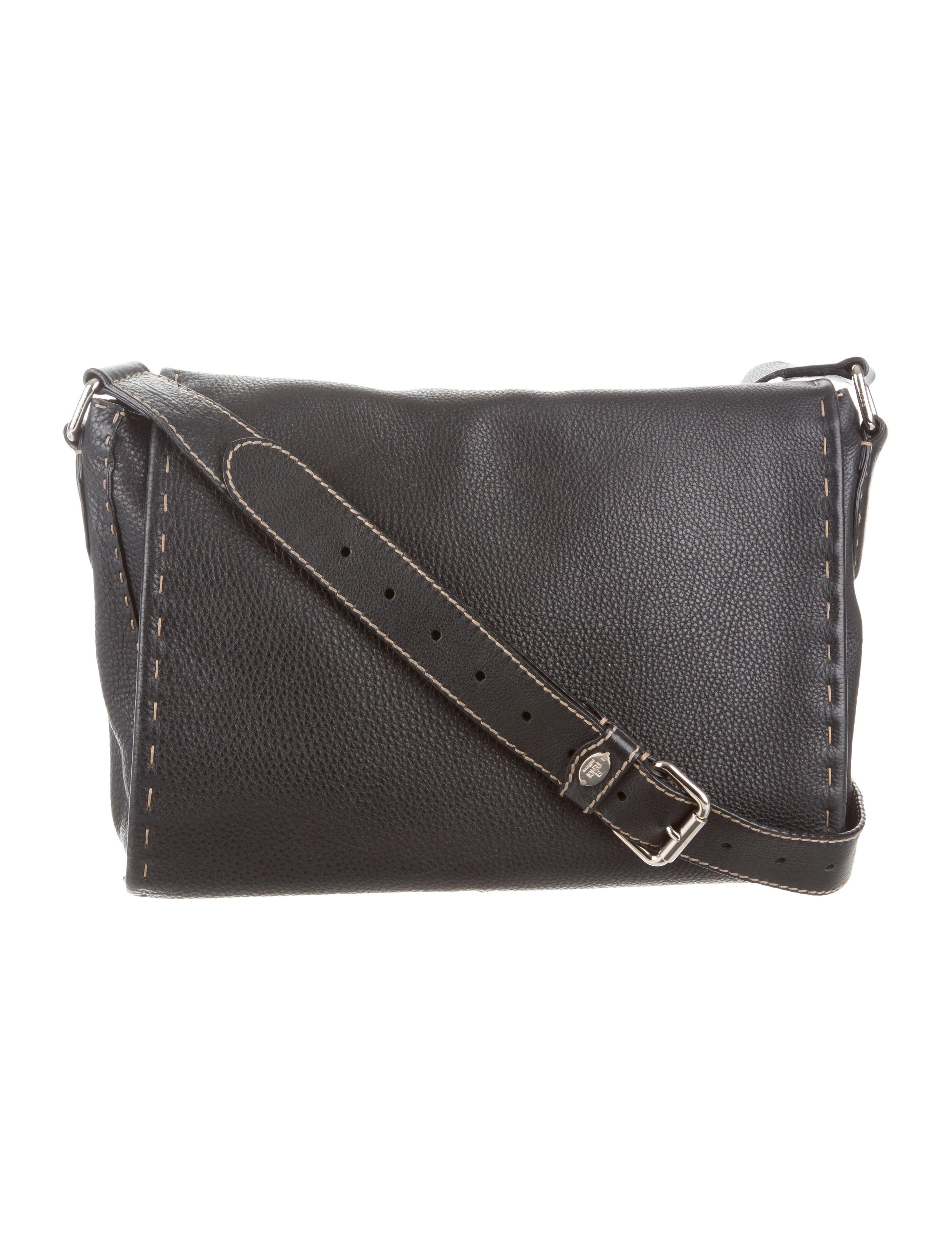 b73cd4e9ba Fendi Selleria Messenger Bag - Handbags - FEN37183 | The RealReal