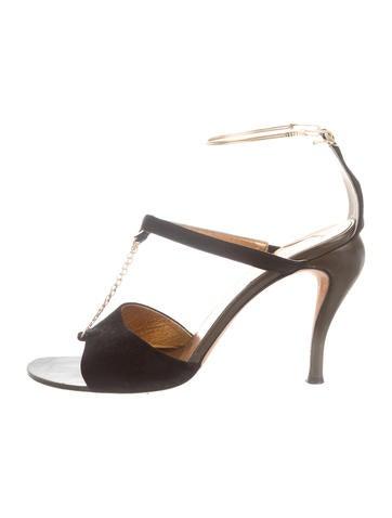 Fendi Suede Sandals None