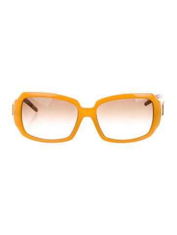Logo Gradient Lens Sunglasses