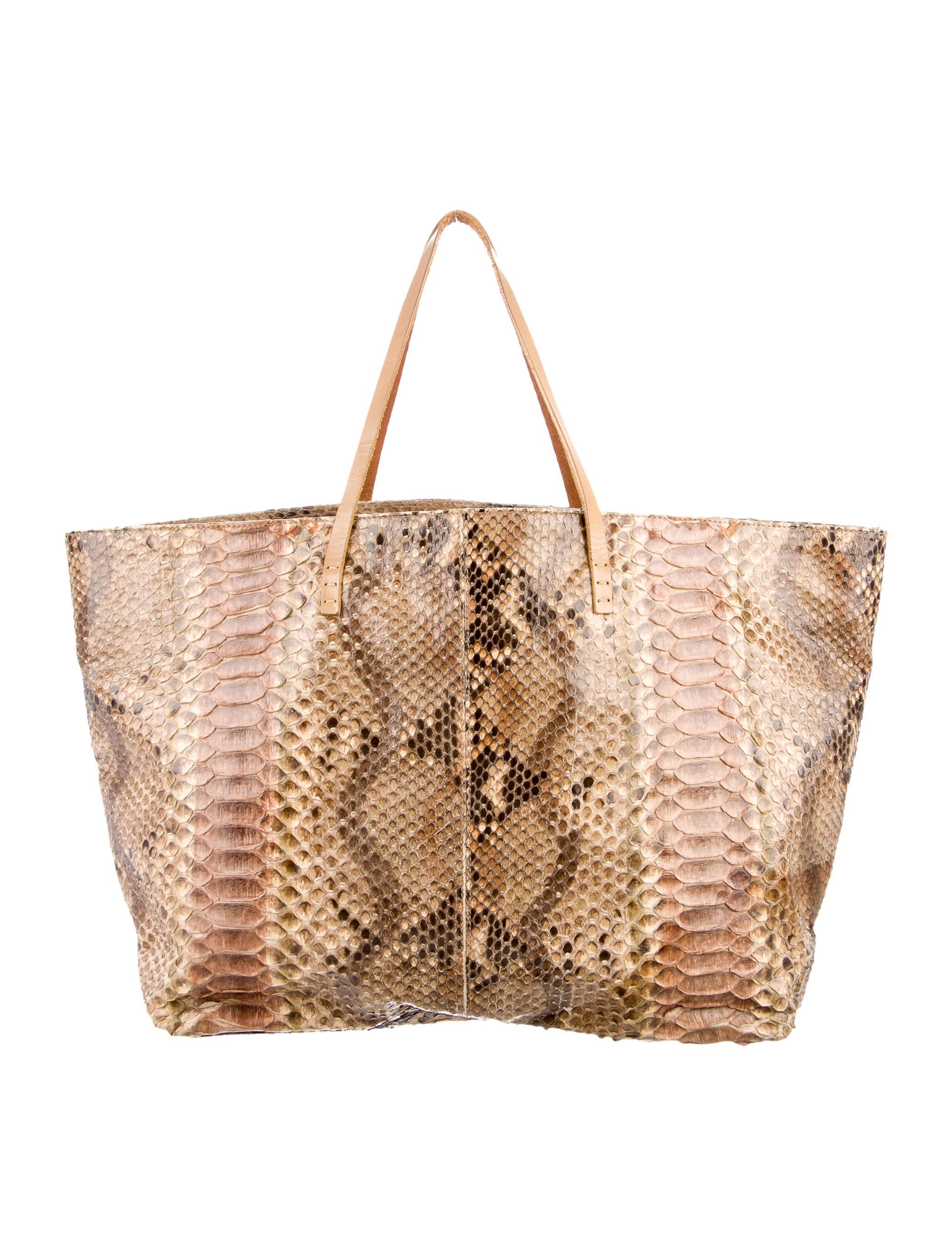 Fendi Python Matrioska tote - Handbags - FEN43963  84d15a7f9cc19