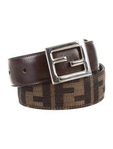 Zucca Buckled Belt