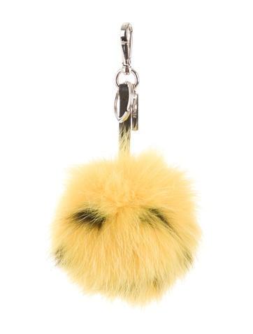 Fendi Smiley Fur Bag Charm