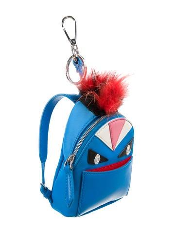 Micro Monster Backpack Bag Charm w/ Tags
