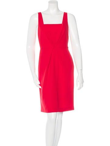 Fendi Wool Sleeveless Dress None