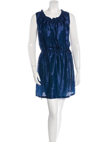 Fendi Sleeeveless Metallic Dress w/ Tags