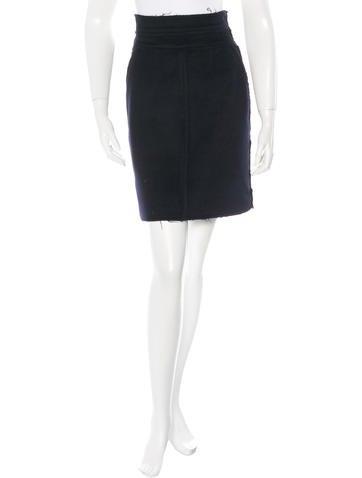 Fendi Mini Pencil Skirt None