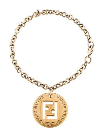 fendi charm bracelet bracelets fen46989 the