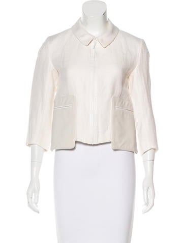 Fendi Tailored Cropped Jacket None
