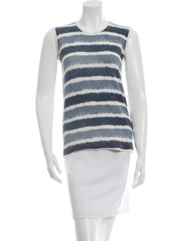 Fendi Striped Knit Top None