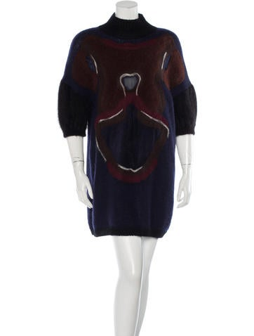 Fendi Orchid Sweater Dress None
