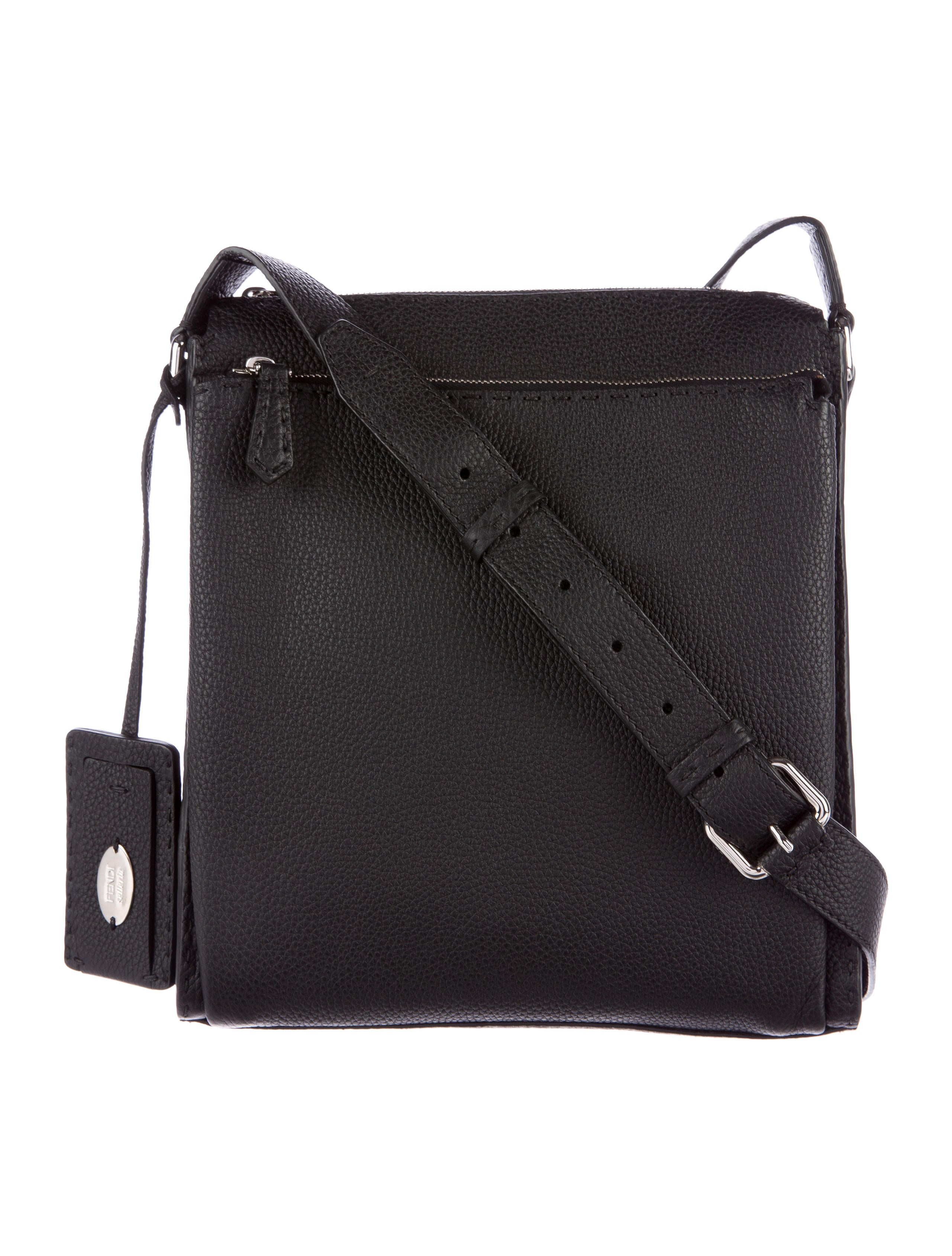 42476c692b7 Fendi Leather Selleria Messenger - Bags - FEN48027   The RealReal