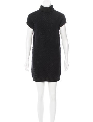 Fendi Metallic Sweater Dress None