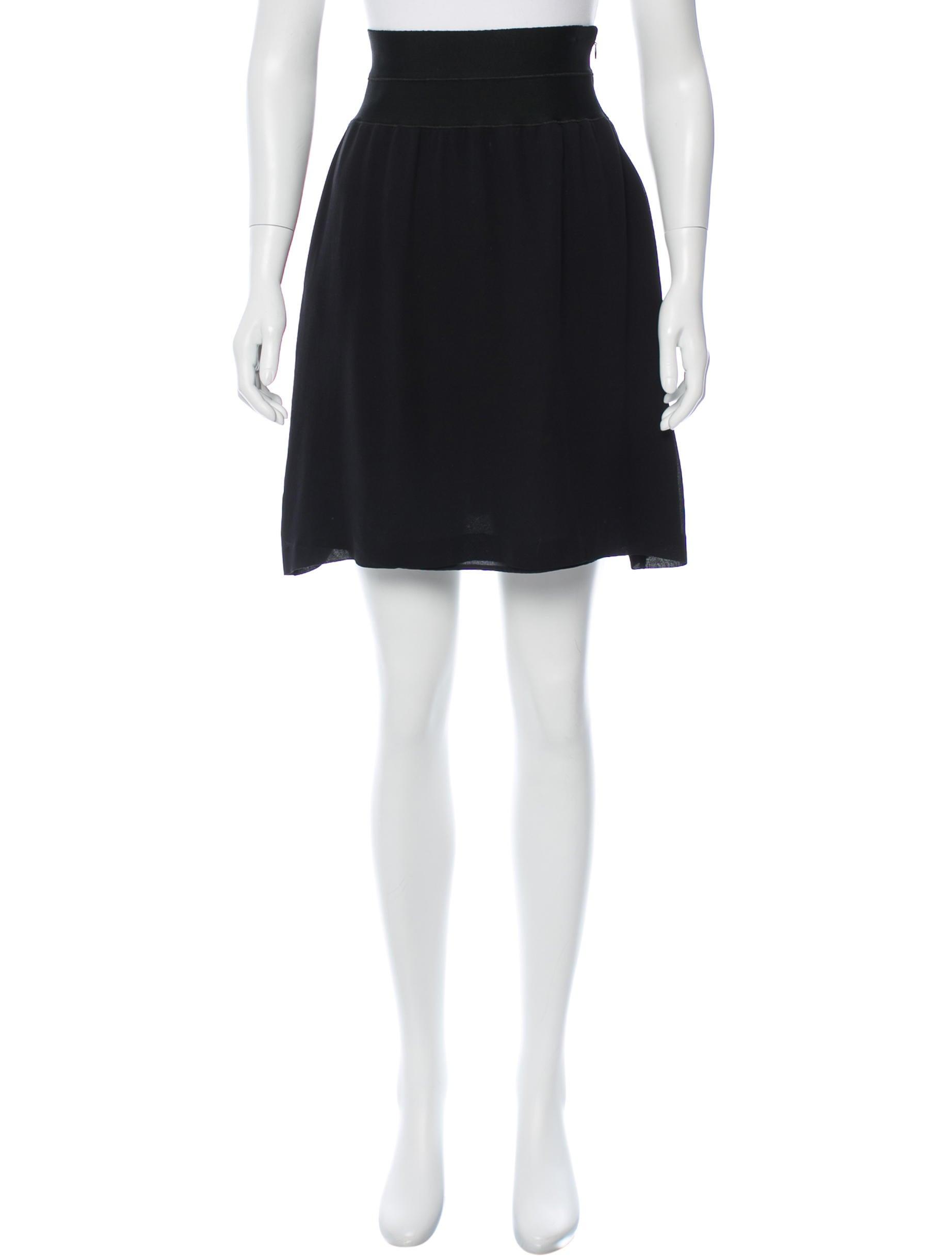 eccbbf375cad Fendi Silk A-line Skirt - Clothing - FEN48131