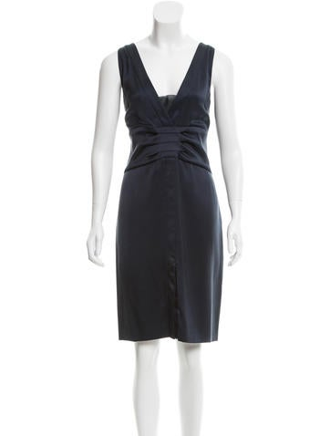 Fendi Embellished Silk Dress None