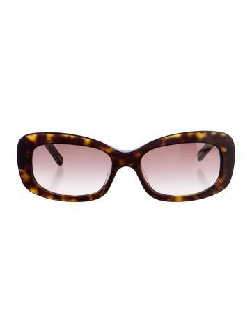 Fendi Tortoiseshell Zucca Sunglasses
