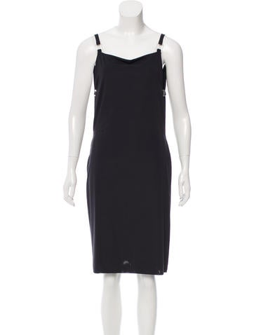 Fendi Zucca Sleeveless Dress None