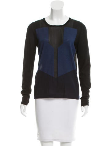 Fendi Colorblock Knit Top None