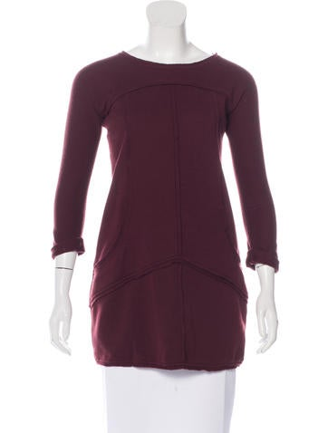 Fendi Wool Three-Quarter Sleeve Tunic None
