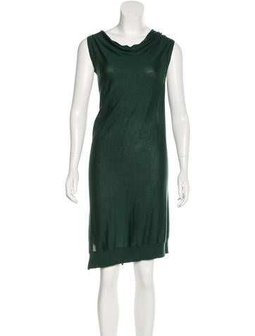 Fendi Draped Sleeveless Dress None