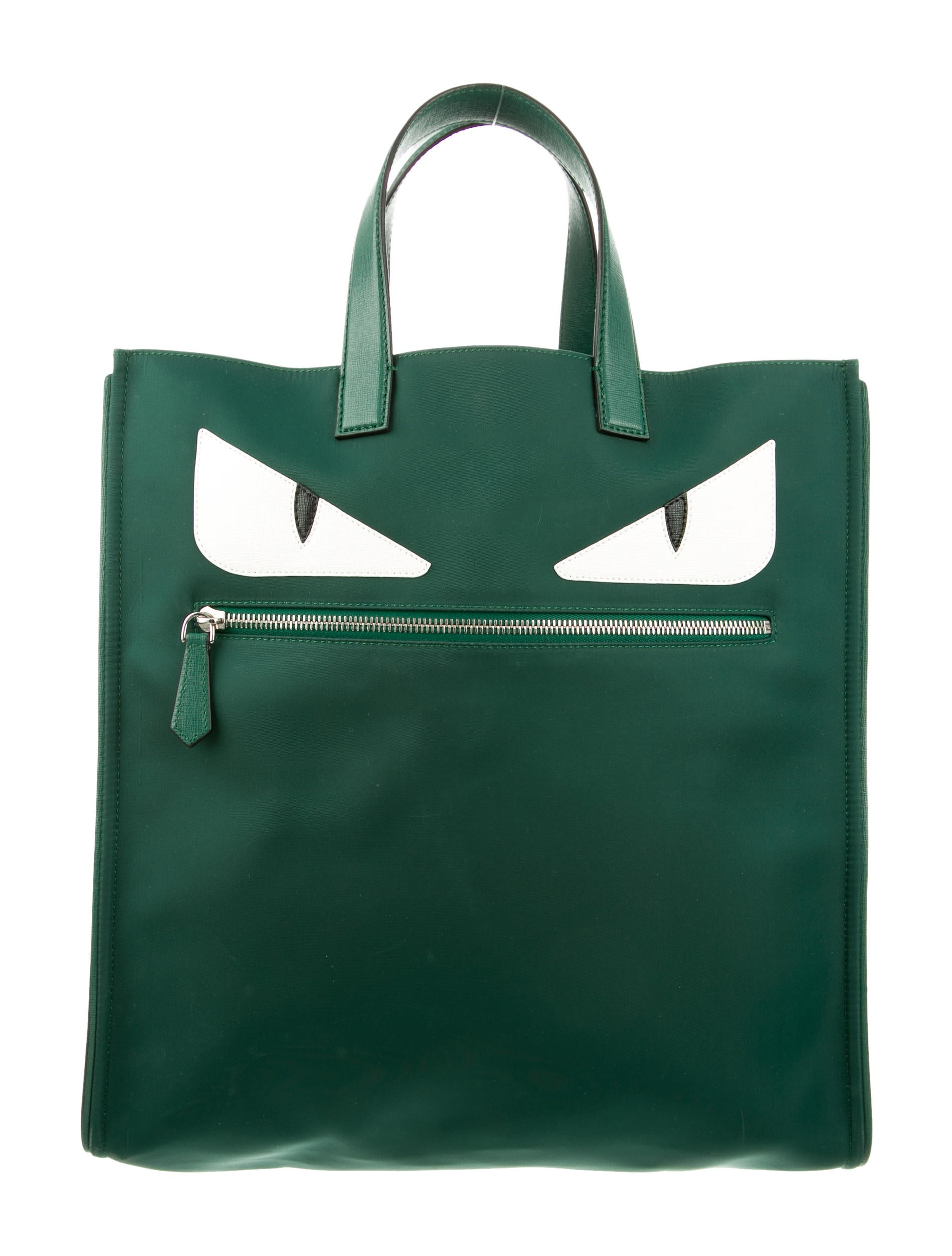 Fendi Monster Tote Green