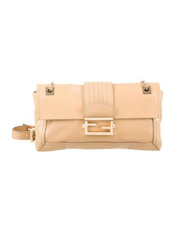 Fendi Leather Shoulder Bag None