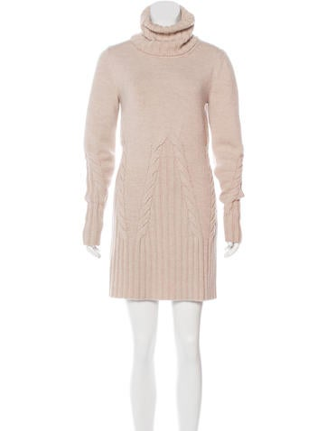 Fendi Virgin Wool Sweater Dress None