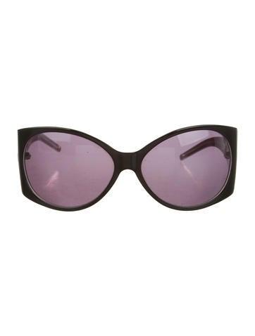 Fendi Logo-Accented Oversize Sunglasses