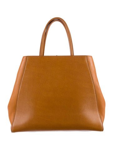 Leather 2Jours Tote