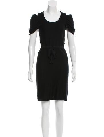 Fendi Cutout Knit Dress None