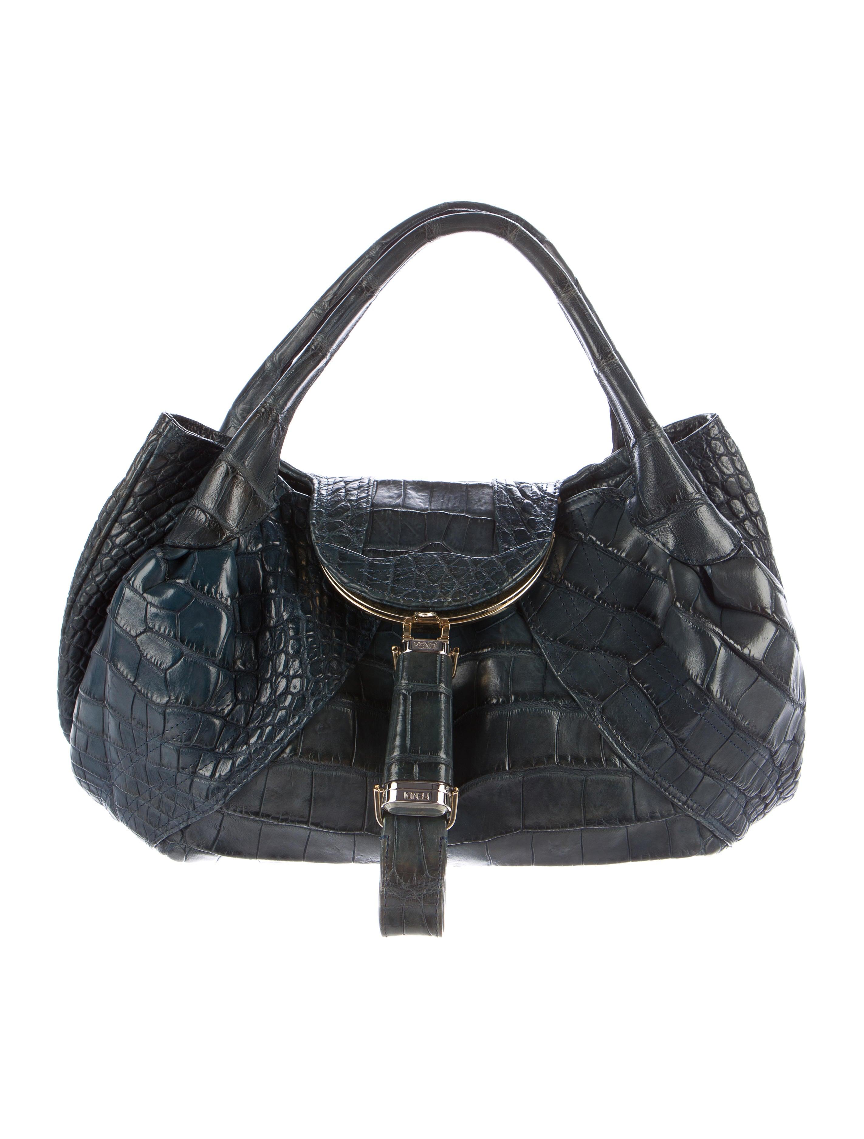 97caaaefdf66 Fendi Alligator Spy Bag - Handbags - FEN51357