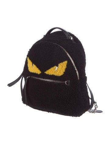 Mini Shearling Backpack