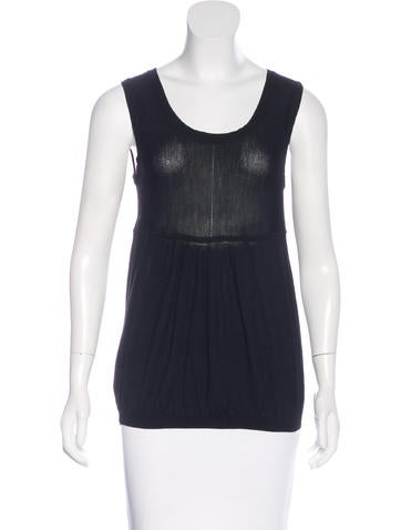 Fendi Knit Sleeveless Top None