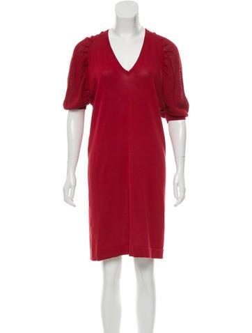 Fendi Mini Knit Dress None