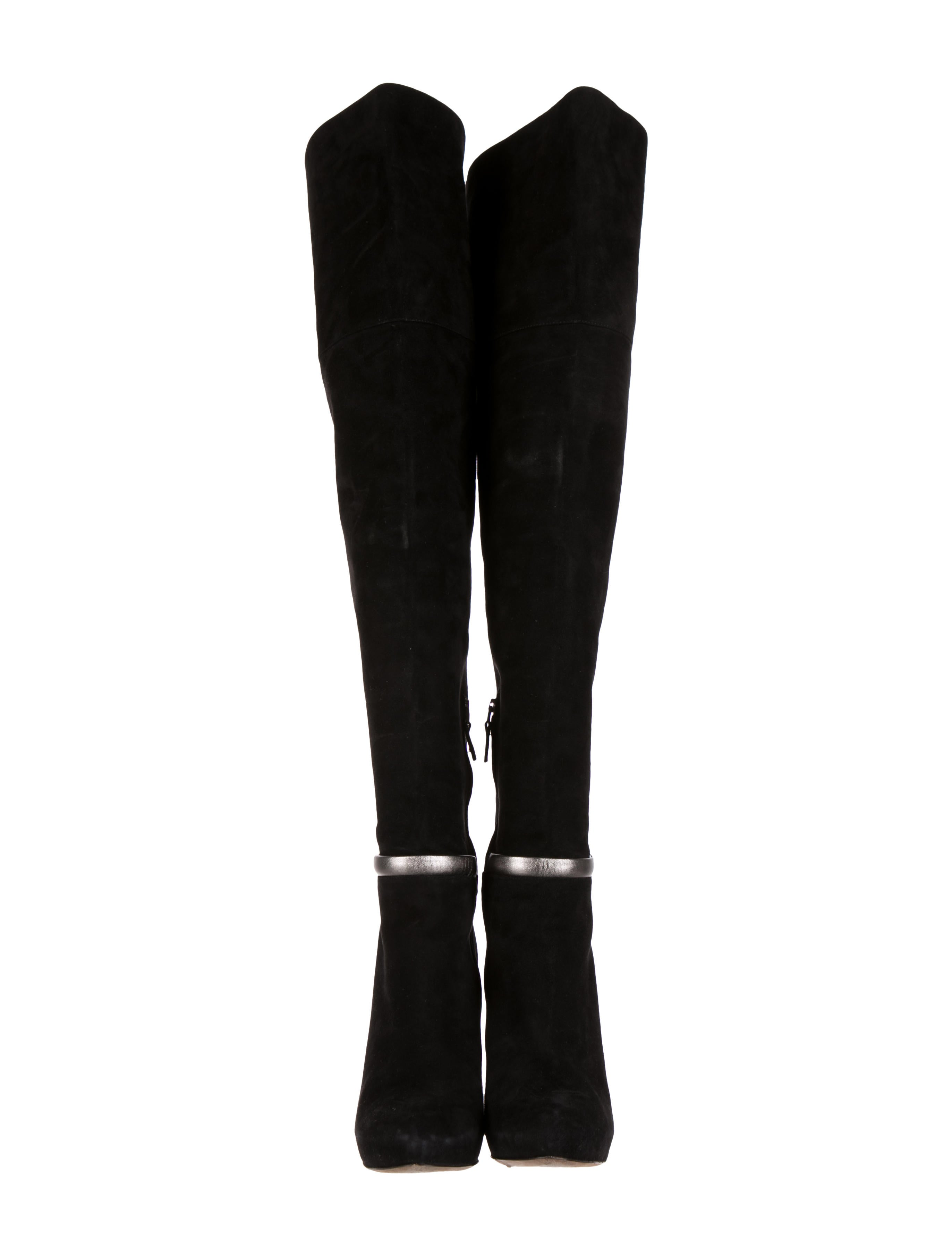 Fendi Suede Over-The-Knee Boots big discount for sale hot sale online nicekicks release dates authentic discount low shipping bdQGqD