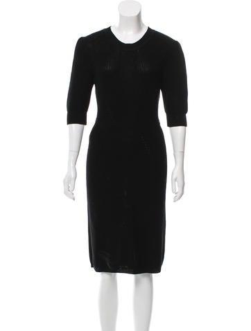 Fendi Knit Midi Dress None