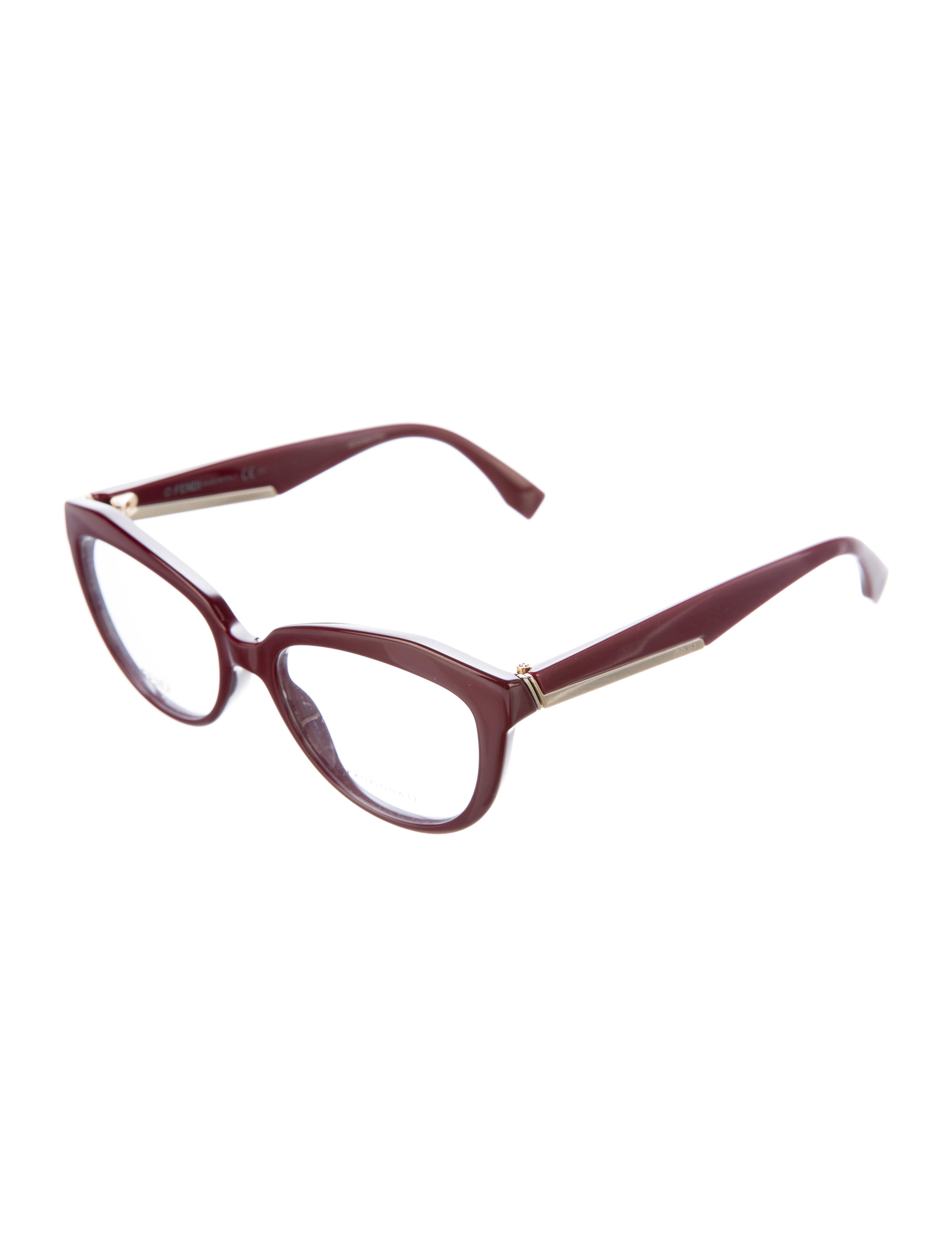 69c8db0f68e Fendi Cat Eye Eyeglass Frames - Bitterroot Public Library