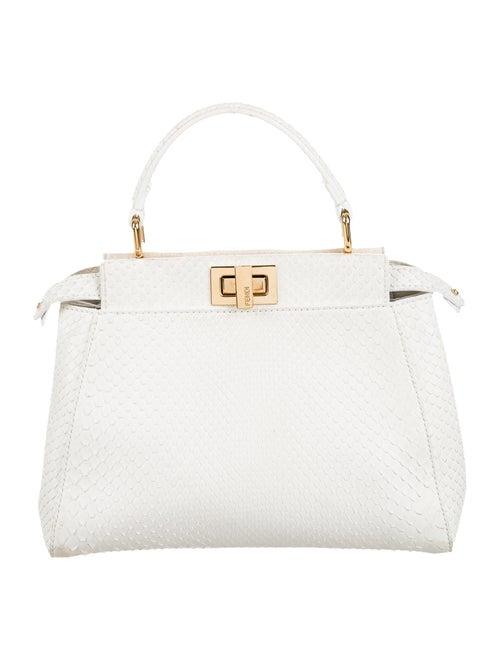 658ef96659b4 Fendi Python Mini Peekaboo Bag - Handbags - FEN52449