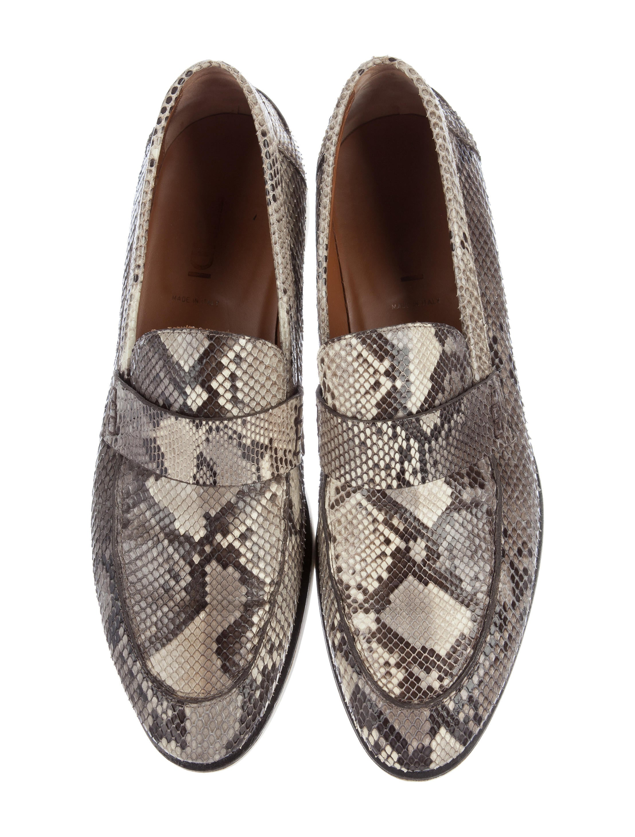 Real Snakeskin Dress Shoes