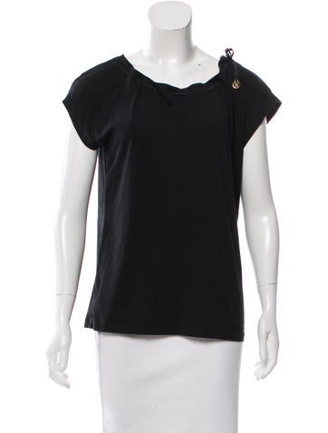 Fendi Zucca Embellished Top None