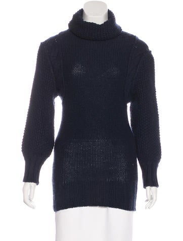 Fendi Cashmere Longline Sweater None